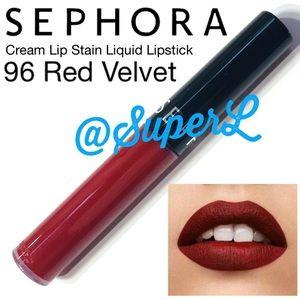 3/$15 Sephora Cream Lip Stain Lipstick Red Velvet